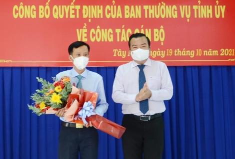 Ông Nguyễn Tuấn Khanh giữ chức Phó Bí thư Thường trực Huyện uỷ Bến Cầu