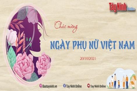 Chào mừng kỷ niệm 91 năm Ngày thành lập Hội Liên hiệp Phụ nữ Việt Nam (20-10-1930 - 20-10-2021)