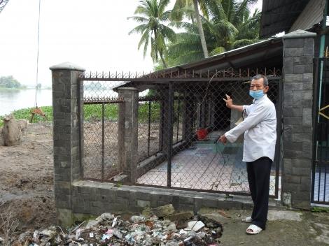 UBND xã Cẩm Giang đã thụ lý đơn của ông và đang tiếp tục giải quyết