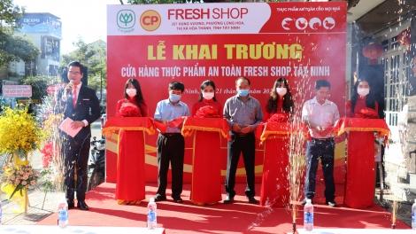 Công ty Cổ phần Chăn nuôi CP Việt Nam: Khai trương cửa hàng thực phẩm an toàn tại thị xã Hòa Thành