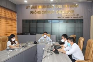 Văn phòng UBND tỉnh triển khai, tập huấn phần mềm đánh giá công tác cải cách hành chính năm 2021
