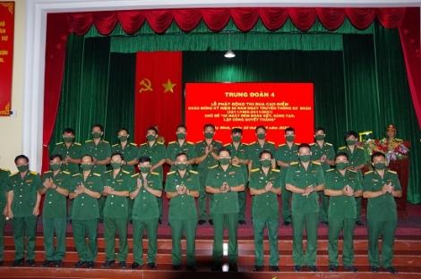 Phát động thi đua cao điểm chào mừng kỷ niệm 56 năm Ngày truyền thống Sư đoàn