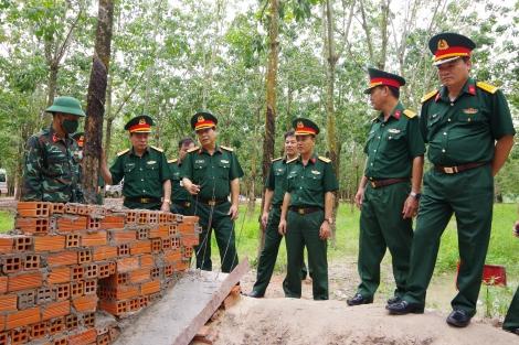 Bộ Quốc phòng kiểm tra tại Sư đoàn 5
